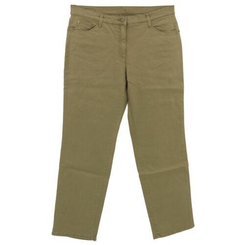 Brax Jeans Femmes Pantalon BX Carola Brill Straight Stretch Noyer Marron 22930
