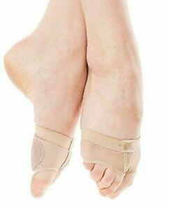 UK Belly Ballet Dance Foot Thongs Protective Toe Undies Half Lyrical Shoes Socks