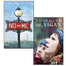 Delphine de Vigan Novel Collection, 2 Books Set (No Et Moi (French) & No and Me)
