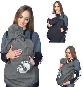 Mijaculture Tragecover Kleidung & Accessoires Universal Bezug Für Baby Carrier Tragetücher Cape 4113 Umstandsmode