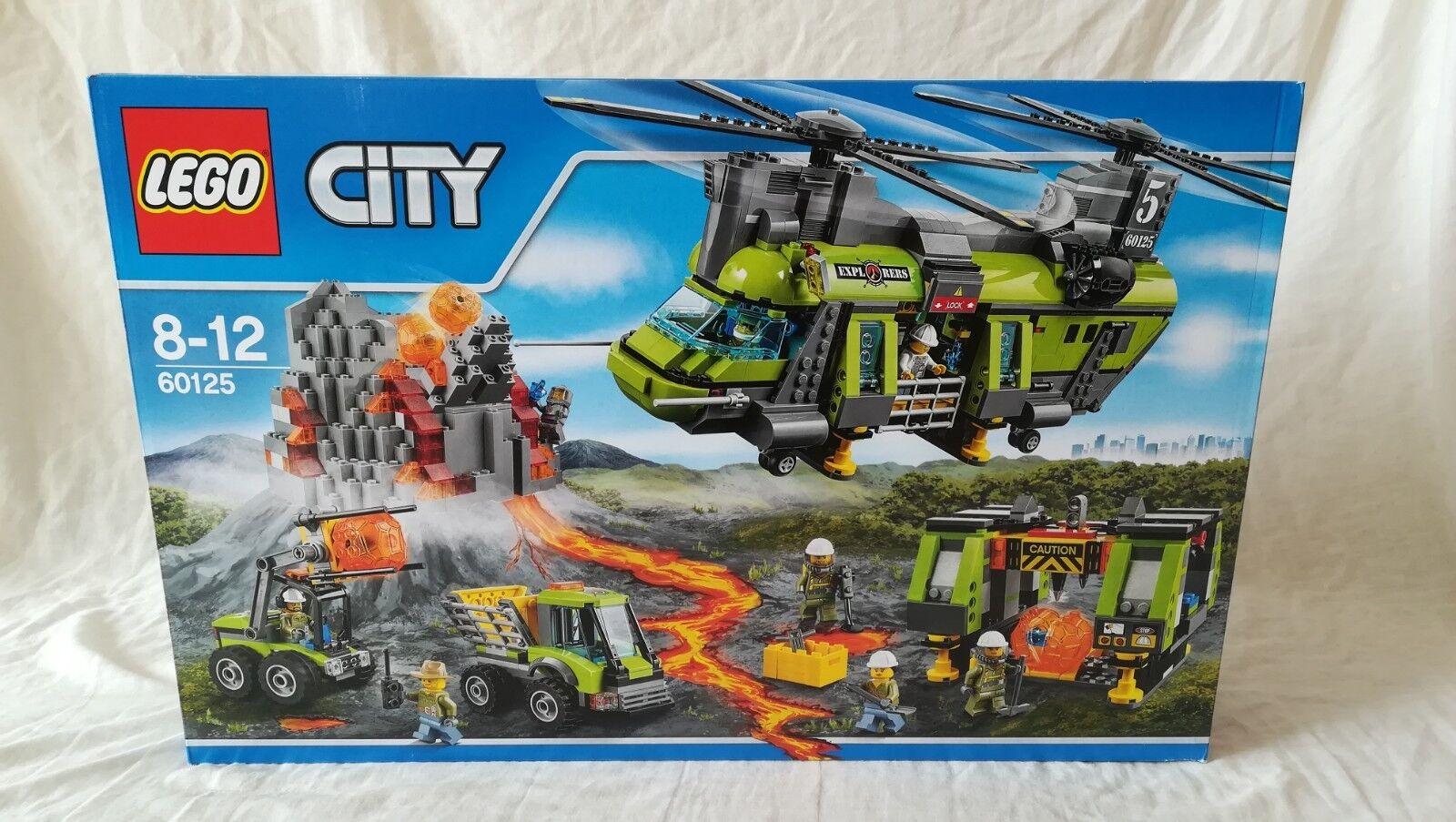 Lego City Volcano Explorers 60155 VOLCANO HEAVY -LIFT HELIKOPTER