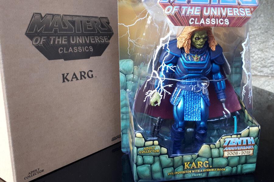 KARG film MASTER OF THE UNIVERSE azione cifra nuovo IN scatola vintage 80  CD MOTU
