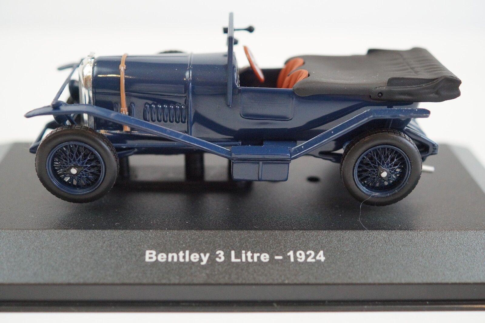 Bentley 3 Litre - 1924 by IXO in  Scale - azul
