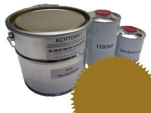 1,5 Liter Set 2K Floor Color Floor Ral 1027 Vinyl-Epoxid-Lack Lackpoint Shine