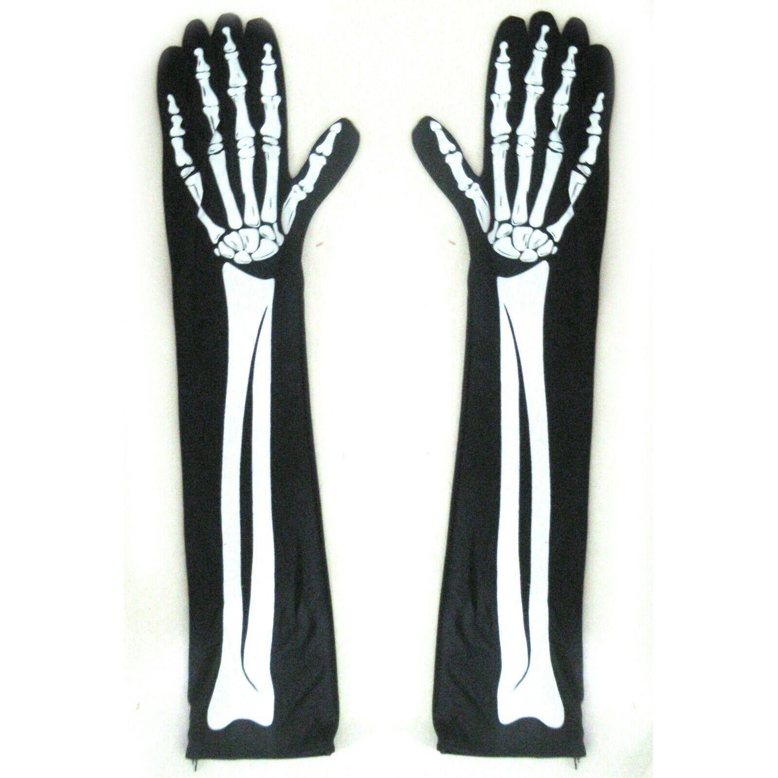 Skeleton Gloves Sexy Halloween Gloves Arms Hands Costume Women's Accessory 15