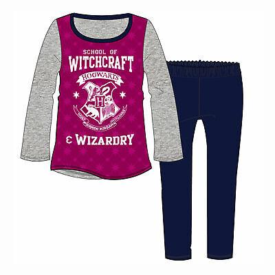 Girls Harry Potter Pyjamas PJs Nightwear School of Witchcraft Hogwarts 3-10yrs