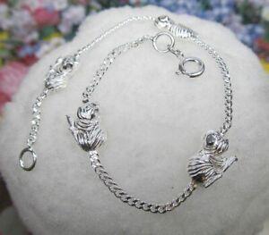 Meerschweinchen-Armband-925-er-Silber