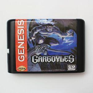 GARGOYLES-16-bit-SEGA-MD-game-card-per-Sega-Mega-Drive-per-Genesis-NUOVO-MIGLIOR-GIOCO