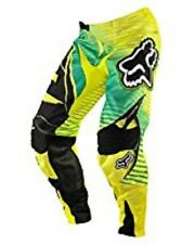 FOX 360 ENTERPRIZE PANTS MEN'S GREEN AND YELLOW 04336-287-32  - ADULT 32