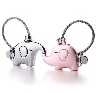 1 Pair Ndfeb Magnet Keyring Pocket Portable Key Chain Magnetic Couple Gift