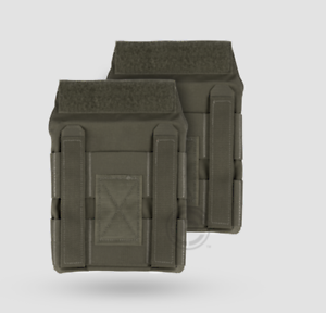 Crye Precision JPC Jumpable Plate Carrier Side Plate Pouch Set Ranger Green