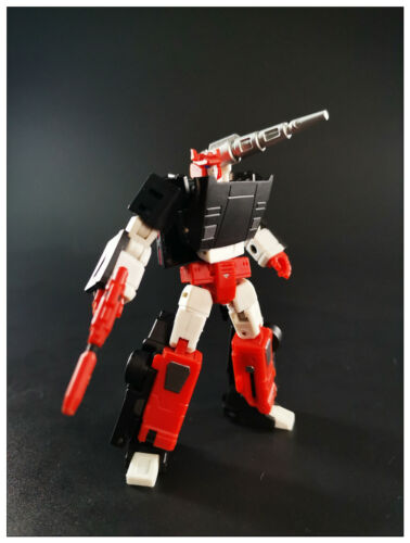 New MS-TOYS MS-B07B Robot Action Figure Black Cannon mini Sideswipe black Ver.