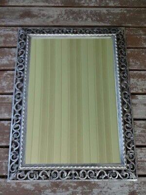 Vintage Gold Wall Mirror Syroco Hollywood Regency 5218