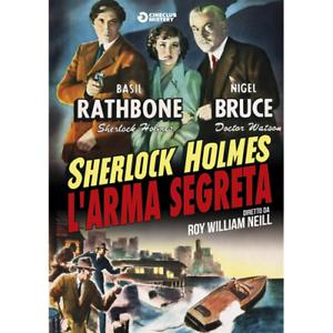 Sherlock-Holmes-L-039-Arma-Segreta-Dvd-Nuovo