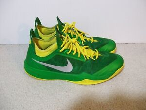 low priced 7dadd 07a6d Image is loading Rare-SZ-14-Nike-Zoom-Crusader-Oregon-Ducks-