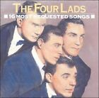 16 Most Requested Songs by The Four Lads (CD, Feb-2008, Sony BMG)