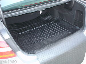 3pc boot liner load mat bumper protector Mercedes A class 3 doors natural rubber
