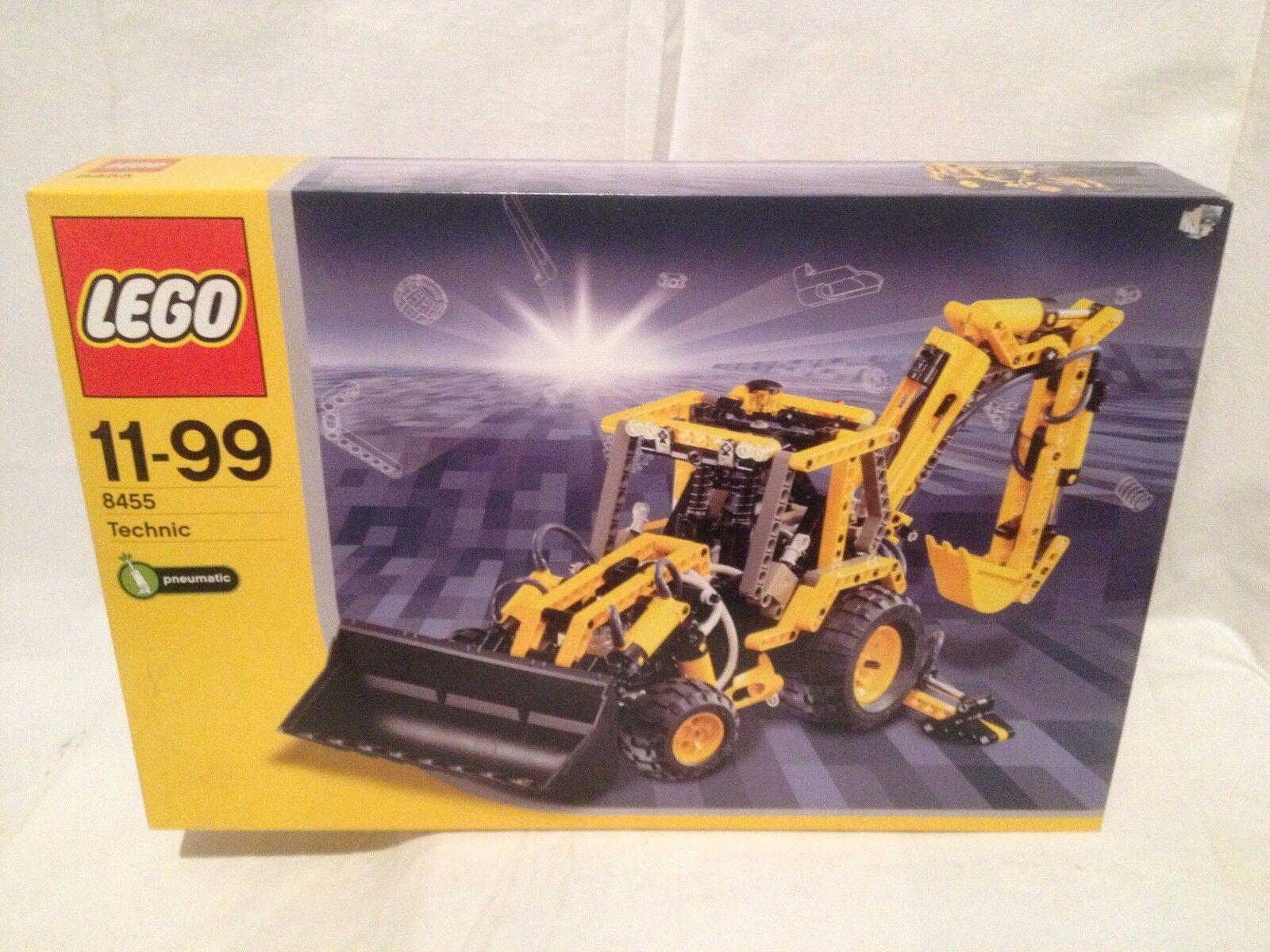 Lego Technic 8455 Pneumatic Excavateurs  NEUF 1 édition