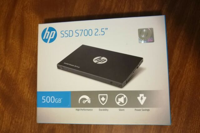 """Priority Shipping - HP S700 2.5"""" 500GB SATA III Internal Solid State Drive SSD"""