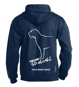 Italian-Spinone-Dog-Breed-Hoodie-Pullover-style-Exclusive-Dogeria-Design