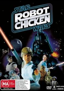 Star-Wars-Robot-Chicken-DVD-2008-Region-4-Animated-Comedy-DVD-Rated-M-in-VGC