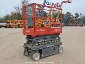 2013-Skyjack-3219-19-039-Electric-Scissor-Lift-Man-Aerial-Platform-bidadoo