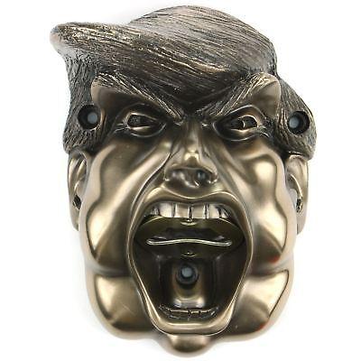 Apribottiglie Birra Buddies Donald Trump Presidente Potus Bbq Parete Bronzo- Facile Da Usare