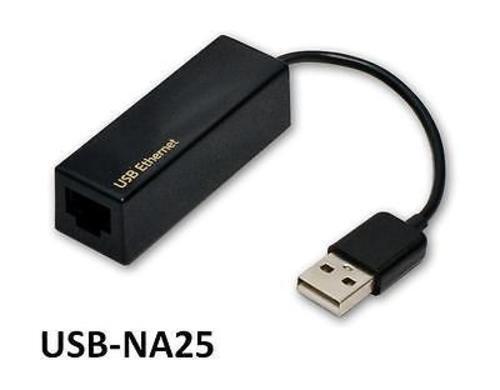USB 2.0 Ethernet LAN 10//100 Mbps Adapter for Desktop//Laptop PC USB-NA25