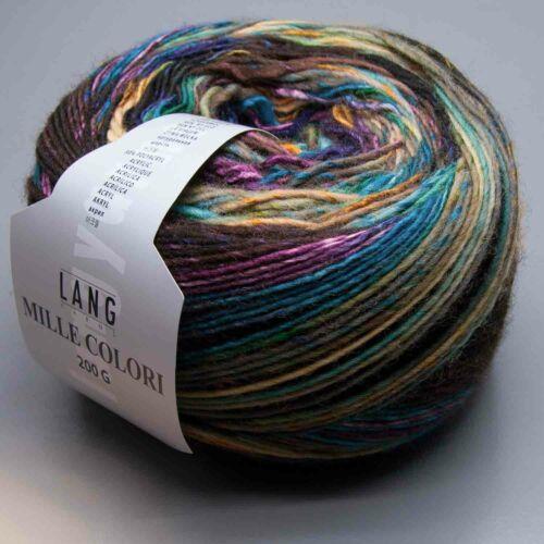 LL 380m Lang Yarns Mille Colori 200g 45 200g Nadelstärke 6-7
