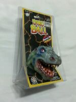 1996 Placo Dino Balls Crushers Trex In Package Rare Madball Style Ko