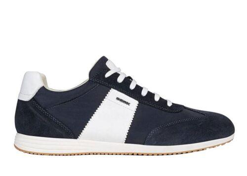GEOX Arsien U026NA 022FU C4002 Blue Sneakers Men's Shoes Footwear Casual dark blue