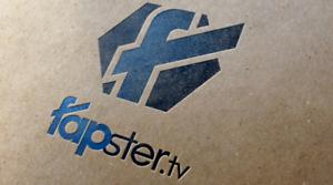 FAPSTER.tv Domain + Idee +Logo fuer Männerseite oder Erotikportal