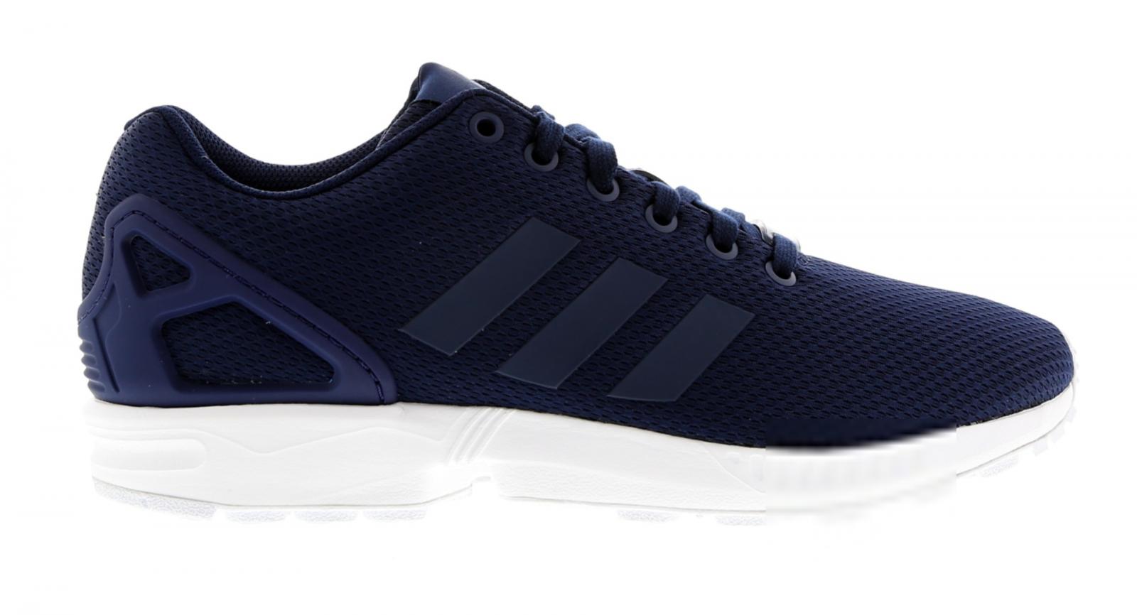 Para Hombre Adidas Azul ZX Flux Zapatillas Textil Azul Adidas Oscuro BB3717 2fa60c