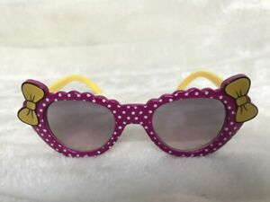 Lunettes-de-soleil-solaires-uv400-enfants-violettes-pois-mauves-noeuds-original