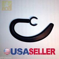 2 Black Earhooks For Samsung Wep350 Bluetooth Flexible Soft Ear Hook Earhook