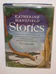Mansfield-STORIES-World-Publishing-Co-c-1946-HC-DJ