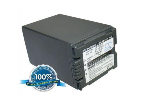 NV-GS100K PV-GS19 Premium Battery for Panasonic NV-GS60 NV-GS230 NV-GS320