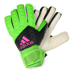 save off 5669e d0963 Details about adidas Ace Competition Football Soccer Goalkeeper Gloves  Negative Cut Goalie