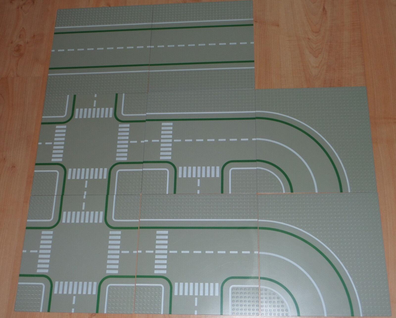Tempêtes d'achat, le le le Nouvel An de Noël est le premier à être fort LEGO 9362 Road Plates en très bon état 17bdcd