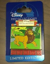 Disney Recollections Pin 2017 Lion King Mufasa Flip Side Simba LE 3000 NOC!