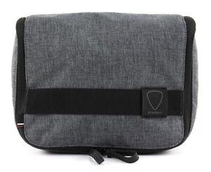 Herren-accessoires Strellson Northwood Washbag Lhz Kulturbeutel Tasche Dark Grey Grau Schwarz Neu Kleidung & Accessoires
