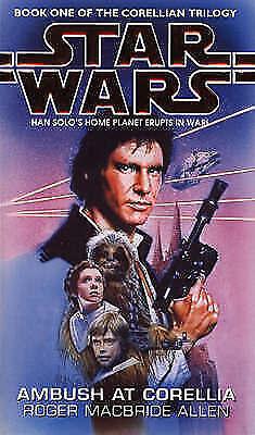 Star Wars: Ambush at Corellia by Roger MacBride Allen Paperback 1995