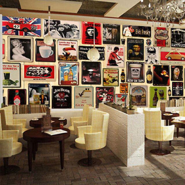 Tin Metal Sign Plaque Bar Pub Vintage Retro Wall Decor Poster Home Club Tavern