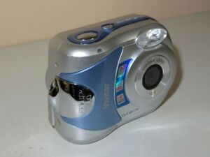 vivitar vivicam 3785 3 0mp digital camera silver 19643603561 ebay rh ebay co uk