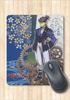 Mouse Pad Kurusu from Kabaneri of the Iron Fortress by Cabinet Japan +