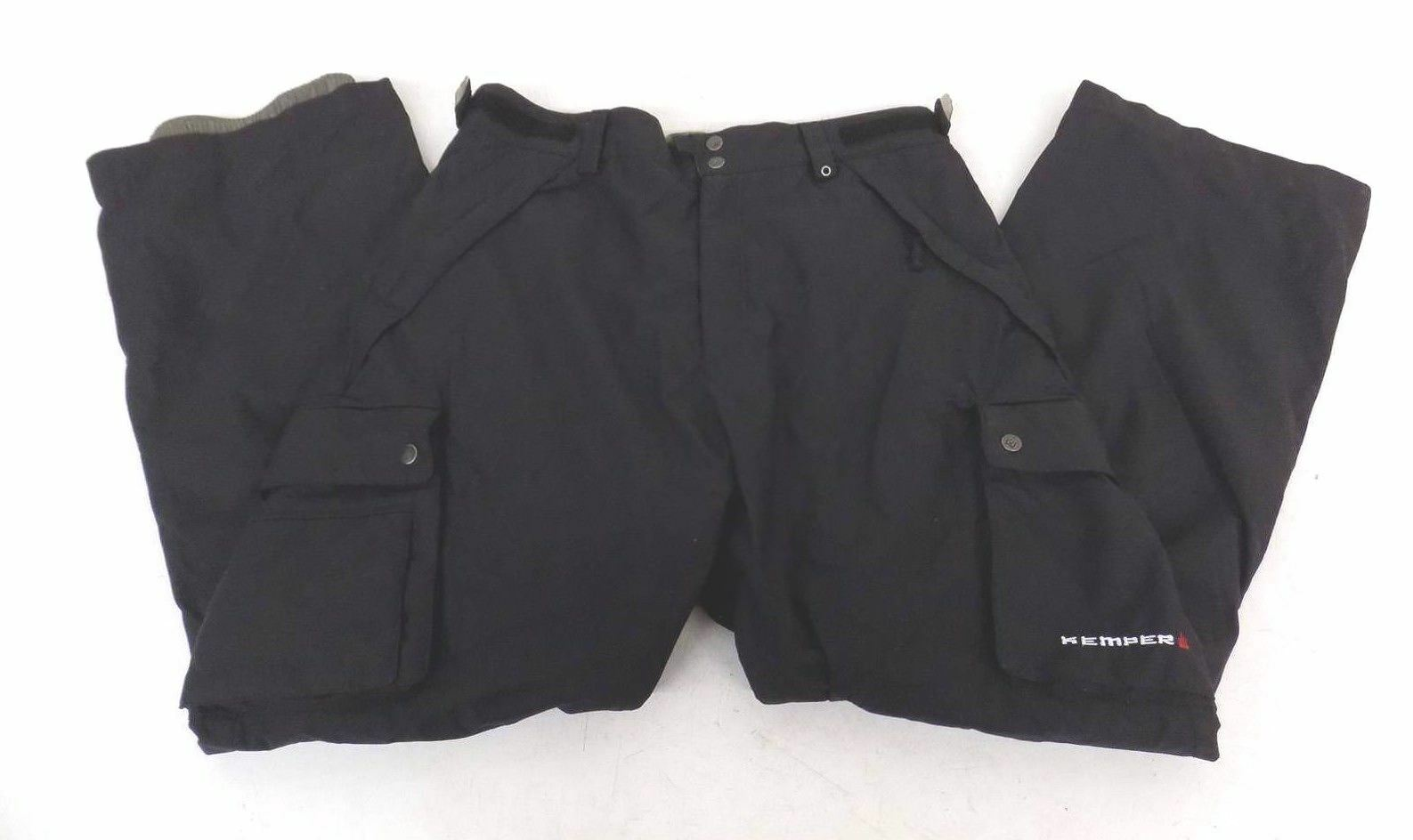 Kemper High-Quality Microfiber  Lined Cargo-Style Snowboard Pants Men's XL GREAT  classic style