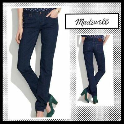 online here popular brand best supplier MADEWELL Women's Rail Straight Jeans Dark Wash EUC SZ 27 X 29 MSRP ...