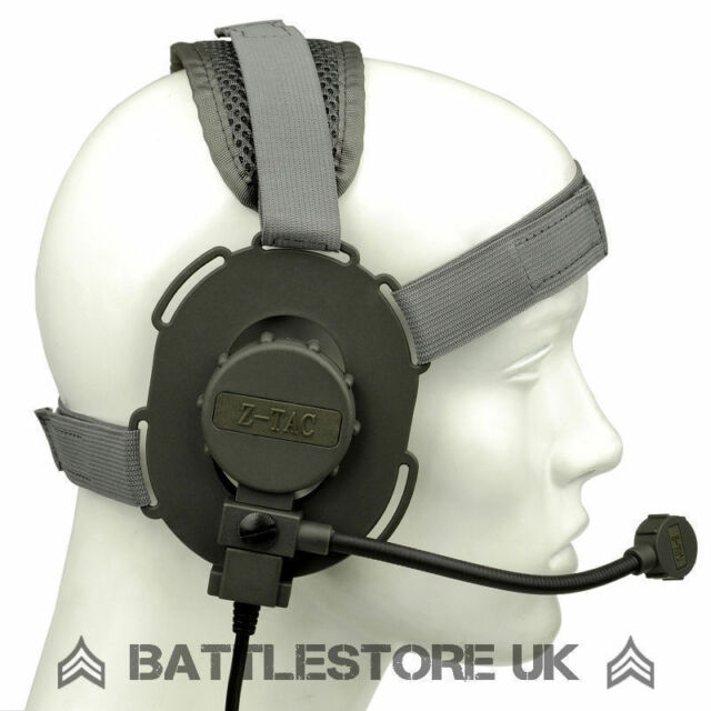 Z Tactical Bowman Evo III Headset FG Green Airsoft Mic Radio 3 zTactical Z029 UK