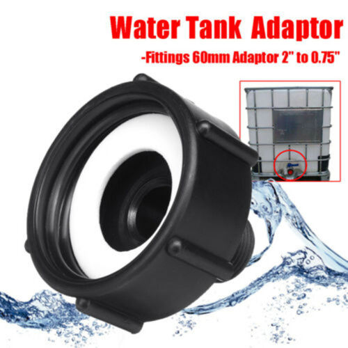 1000L IBC Water Tank Valve Adapter To Garden Hose Adapter Fittings Replace
