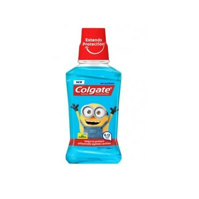 Colgate Enjuague Bucal Infantil Minions Protección Caries 250ml